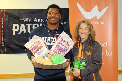Marquis Flowers Wonderfund Thanksgiving turkey donation featured in Fall River Herald-News and Taunton Daily Gazette